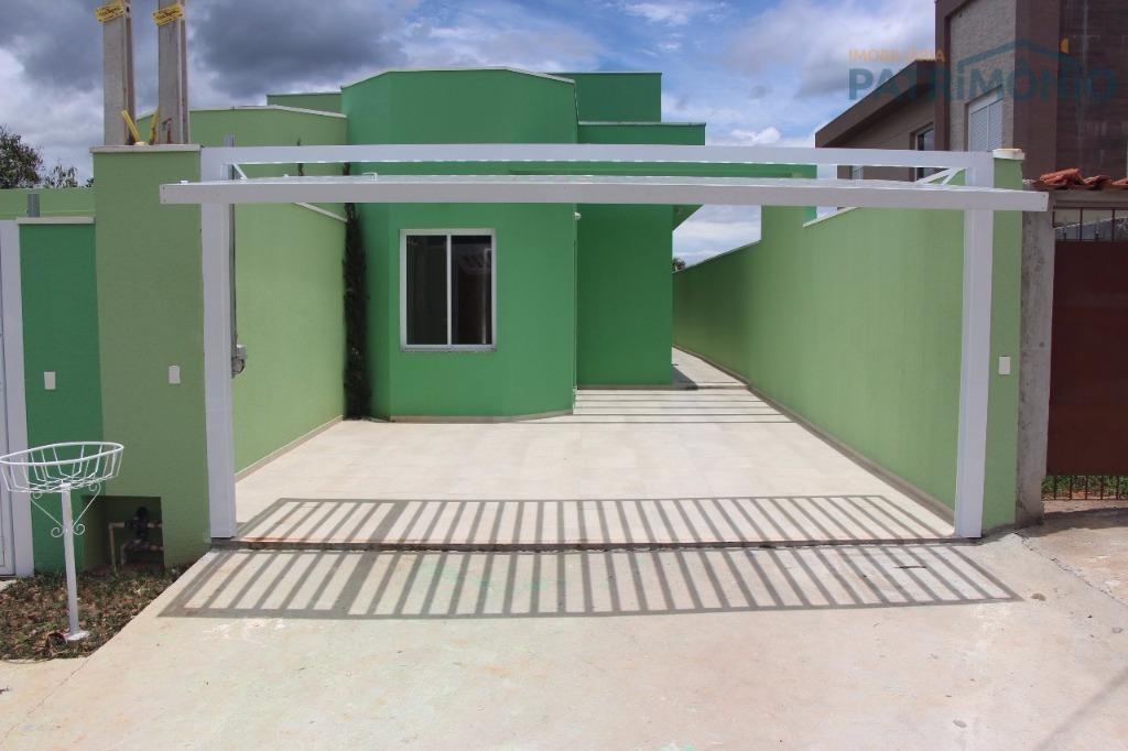 casa com 3 dormitórios à venda, 126 m² por r$ 520.000 - jardim dos pinheiros - atibaia/sp - ca0461