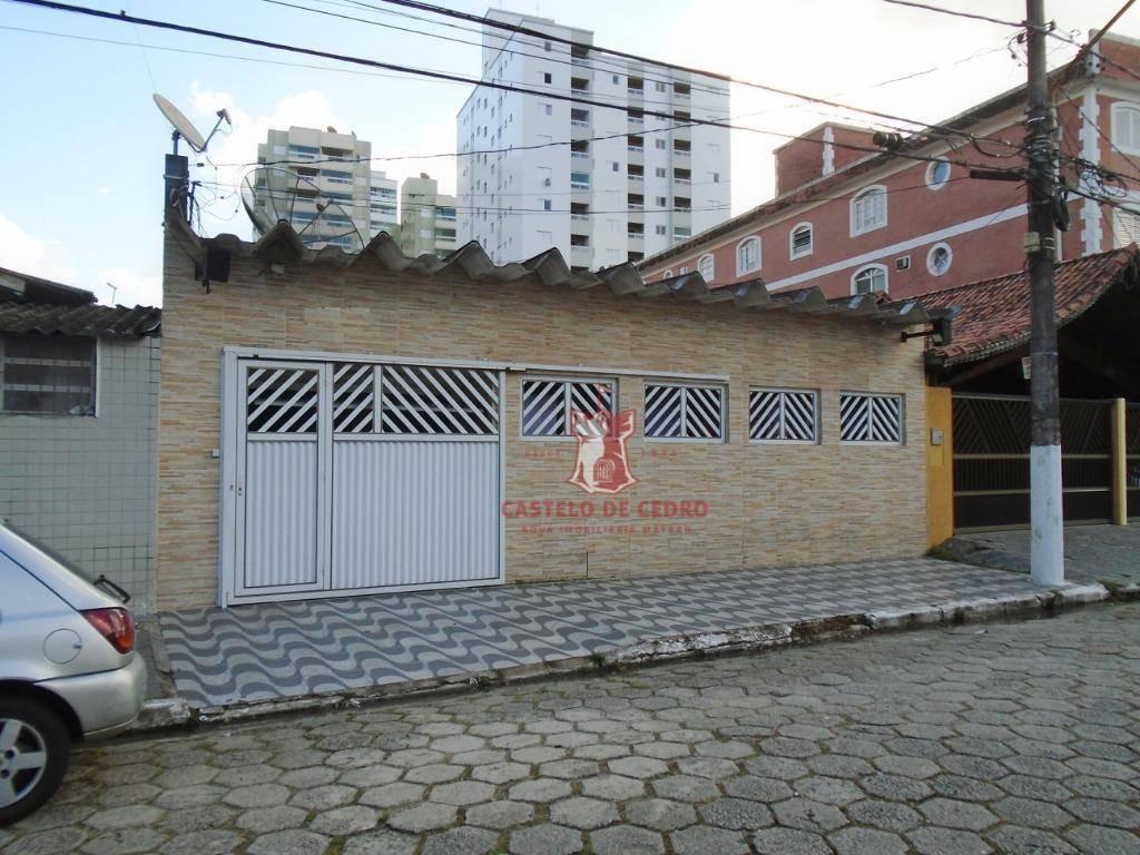 casa com 3 dormitórios à venda, 128 m² por r$ 280.000 - campo da aviação - praia grande/sp - ca0175