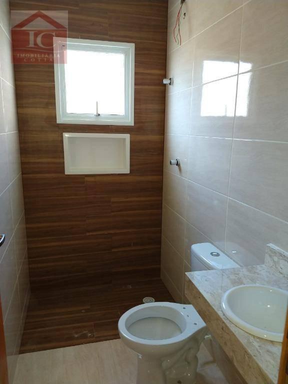 casa com 3 dormitórios à venda, 128 m² por r$ 500.000,00 - jardim caiapia - cotia/sp - ca1025