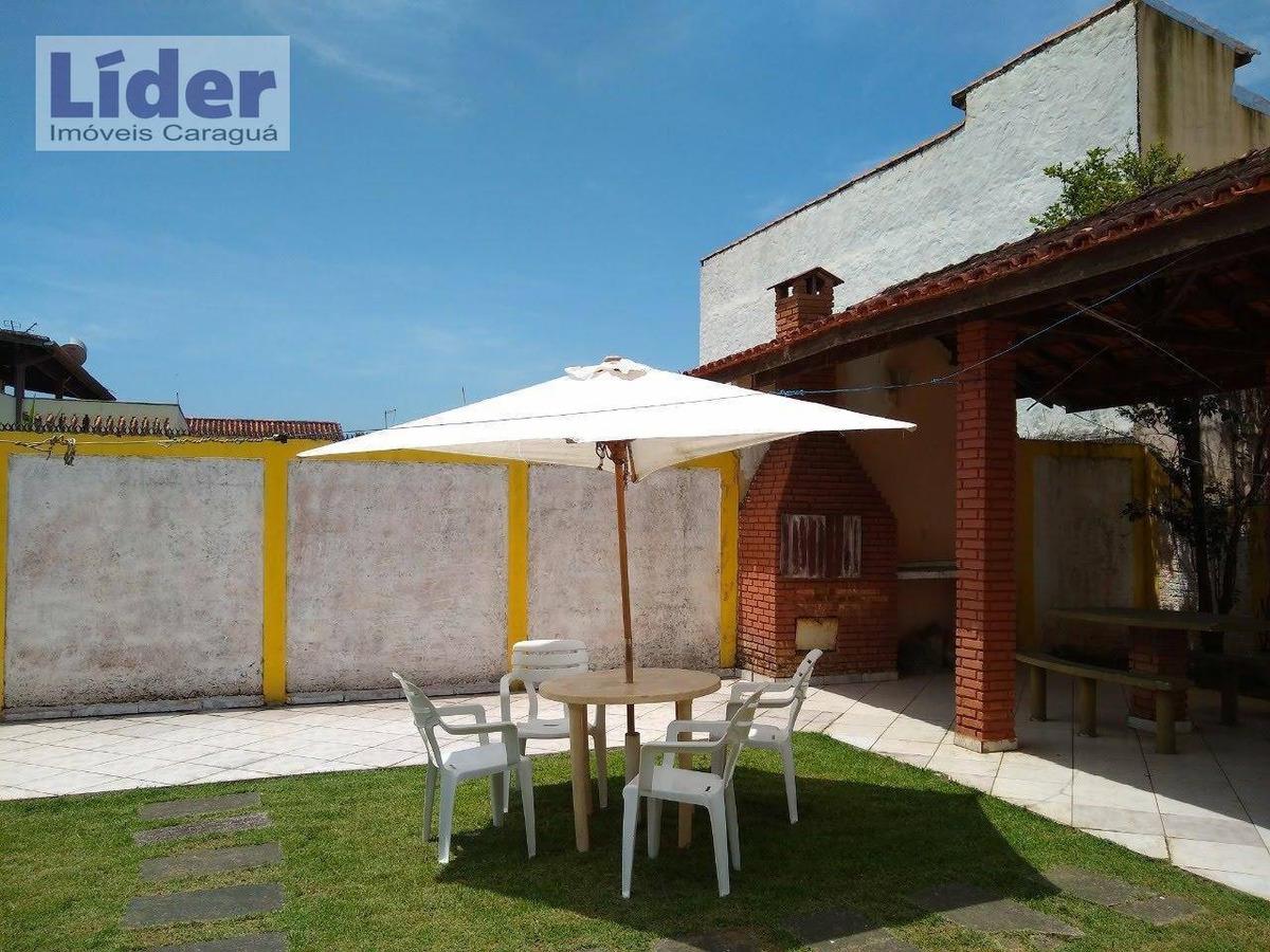 casa com 3 dormitórios à venda, 130 m² por r$ 450.000 - jardim britânia - caraguatatuba/sp - ca0557