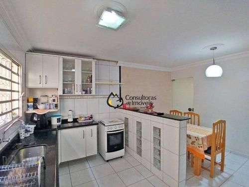casa com 3 dormitórios à venda, 138 m² por r$ 375.000,00 - vila monte alegre - paulínia/sp - ca0947