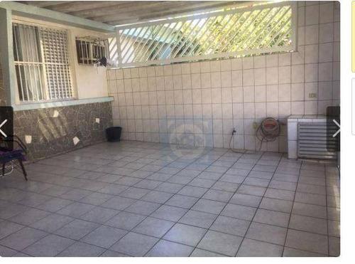 casa com 3 dormitórios à venda, 139 m² por r$ 510.000 - jardim independência - são vicente/sp - ca0566