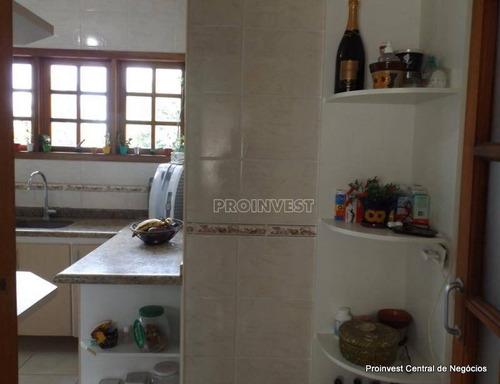 casa com 3 dormitórios à venda, 140 m² por r$ 680.000 - granja viana - cotia/sp - ca16570