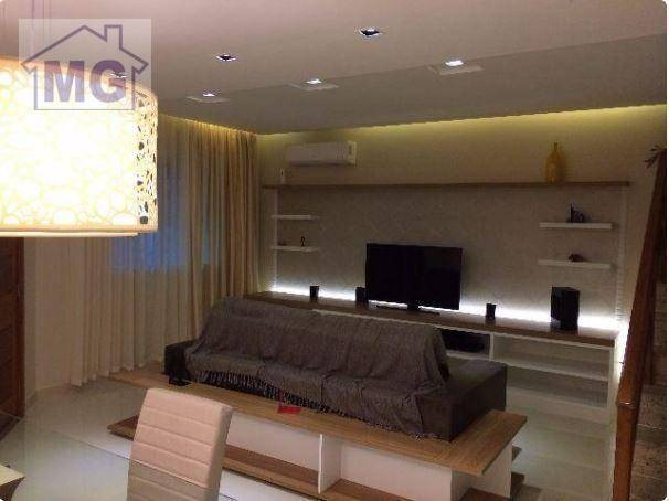 casa com 3 dormitórios à venda, 142 m² - granja dos cavaleiros - macaé/rj - ca0096
