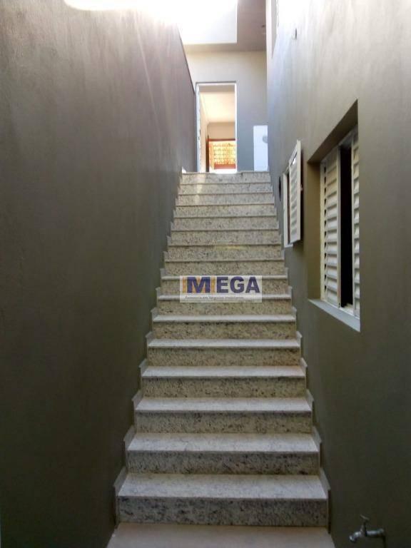 casa com 3 dormitórios à venda, 143 m² por r$ 440.000,00 - parque jambeiro - campinas/sp - ca1364