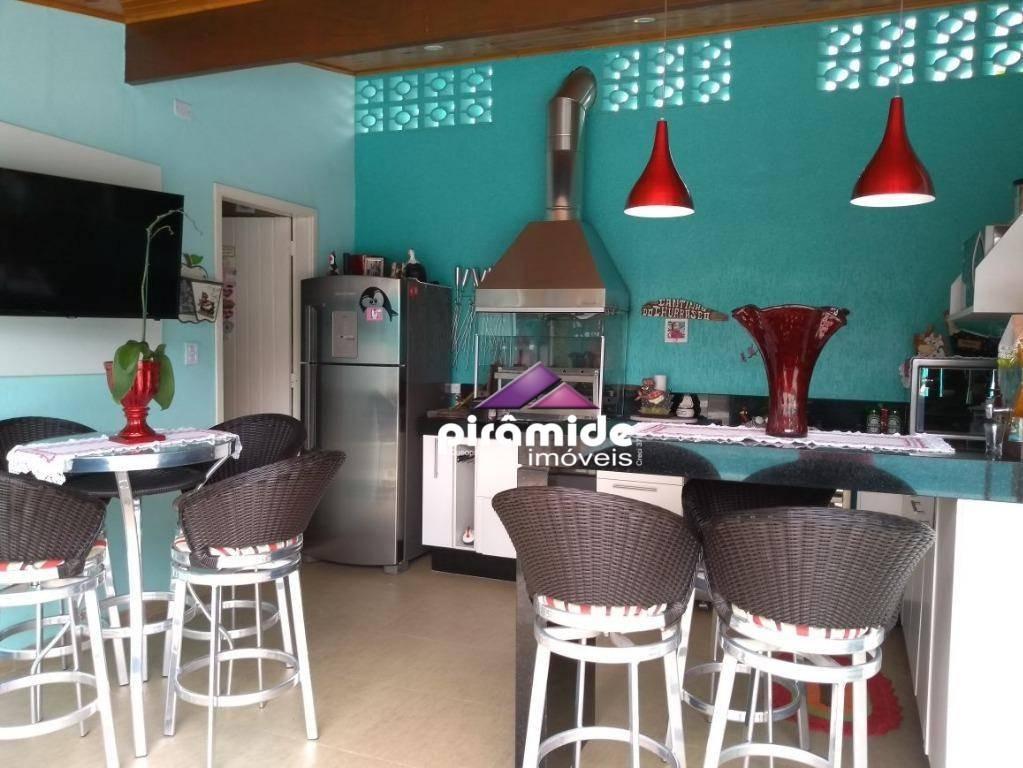 casa com 3 dormitórios à venda, 150 m² por r$ 1.060.000,00 - jardim britânia - caraguatatuba/sp - ca3788