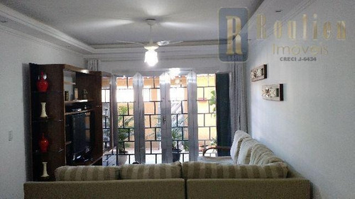 casa com 3 dormitórios à venda, 150 m² por r$ 585.000 - posse - nova iguaçu/rj - ca0098