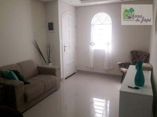 casa com 3 dormitórios à venda, 150 m² por r$ 650.000 - eloy chaves - jundiaí/sp - ca0961