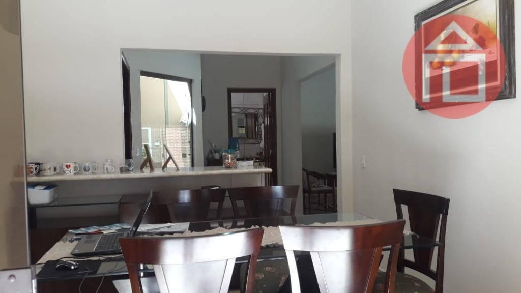 casa com 3 dormitórios à venda, 156 m² por r$ 600.000 - jardim europa - bragança paulista/sp - ca2465