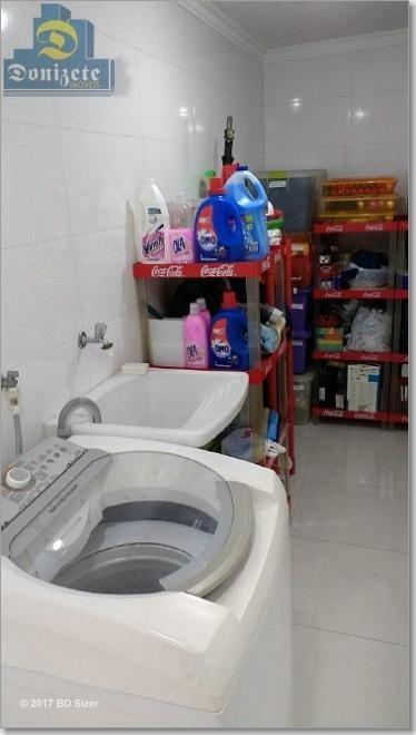casa com 3 dormitórios à venda, 159 m² por r$ 845.000,10 - vila assunção - santo andré/sp - ca0361
