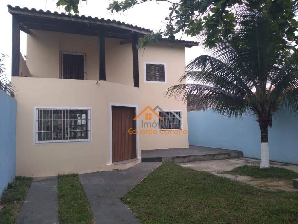 casa com 3 dormitórios à venda, 160 m² por r$ 290.000 - massaguaçu - caraguatatuba/sp - ca0434