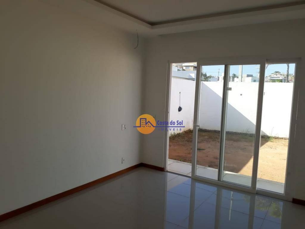 casa com 3 dormitórios à venda, 160 m² por r$ 690.000,00 - vale dos cristais - macaé/rj - ca1535
