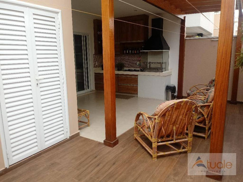 casa com 3 dormitórios à venda, 160 m² por r$ 750.000,00 - morumbi - paulínia/sp - ca5647