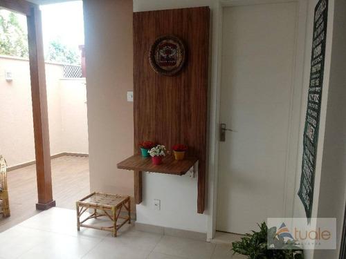 casa com 3 dormitórios à venda, 160 m² por r$ 790.000 - morumbi - paulínia/sp - ca5647