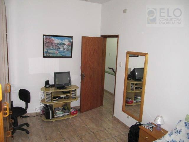 casa com 3 dormitórios à venda, 160 m² por r$ 815.000,00 - gonzaga - santos/sp - ca0217