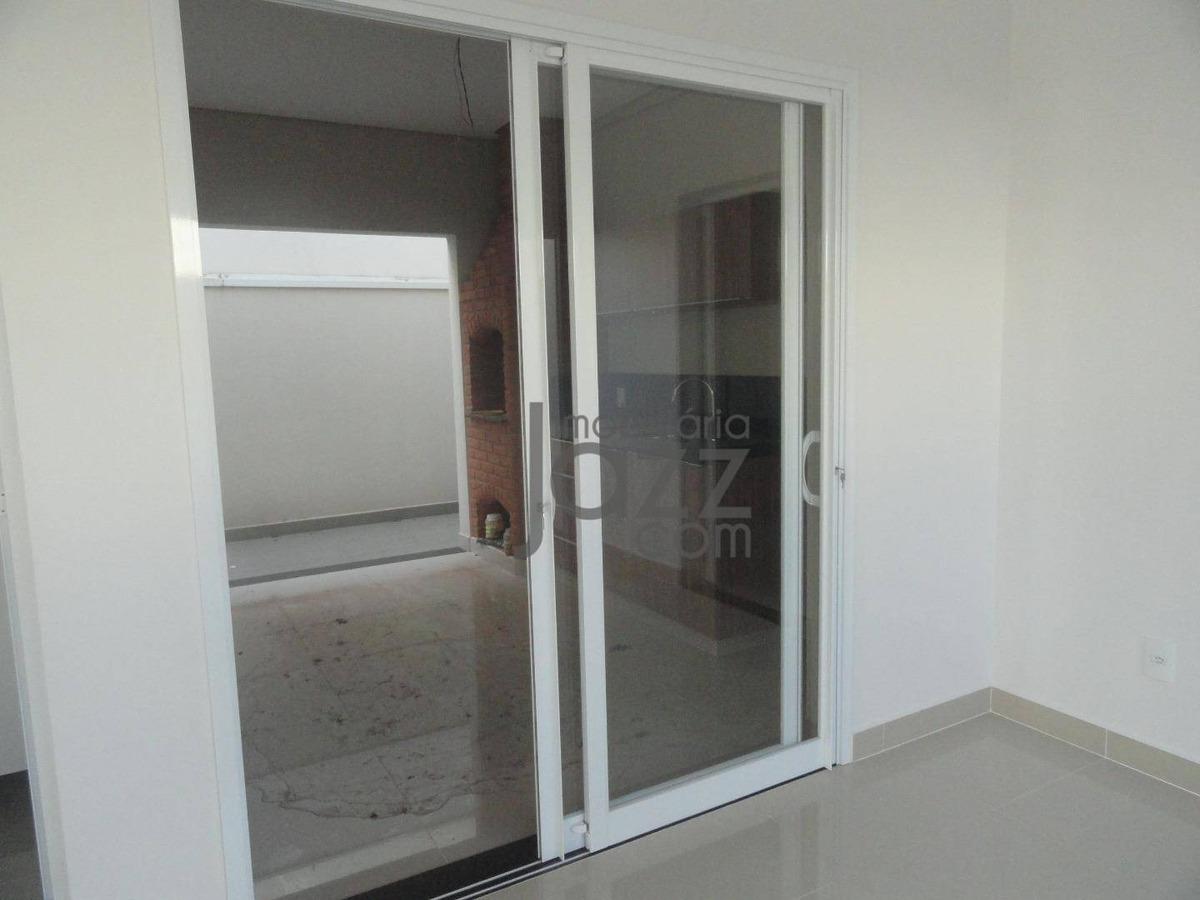 casa com 3 dormitórios à venda, 170 m² por r$ 800.000 - residencial portal do lago - sumaré/sp - ca6030