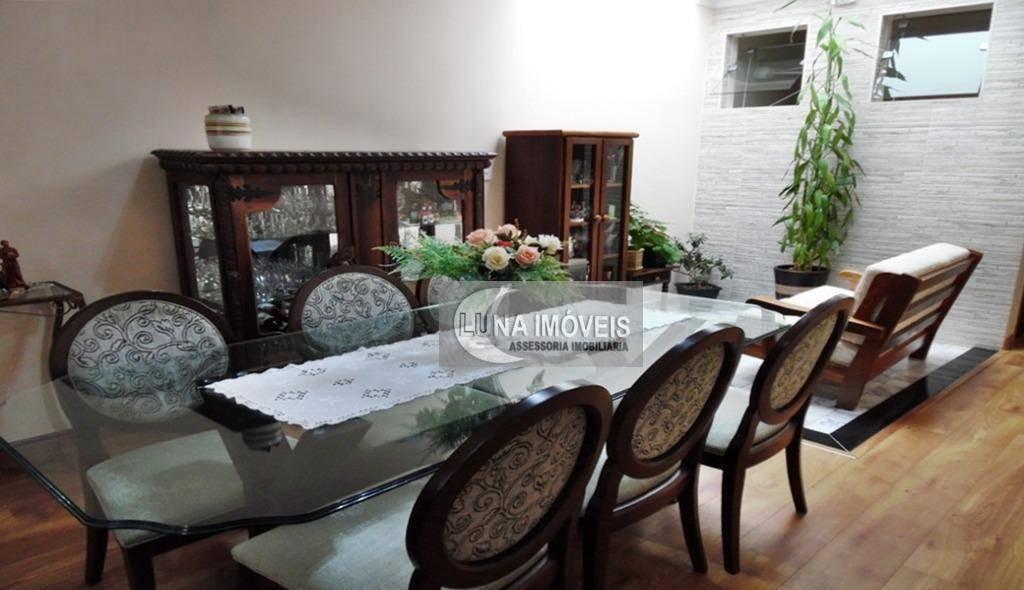 casa com 3 dormitórios à venda, 174 m² por r$ 577.000,00 - vila vivaldi - são bernardo do campo/sp - ca0370