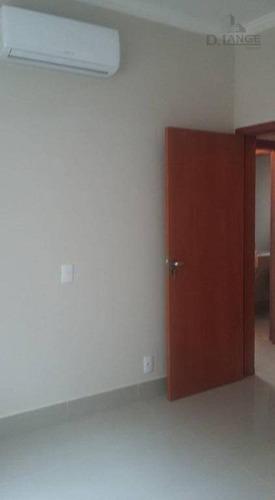 casa com 3 dormitórios à venda, 177 m² por r$ 680.000 - condomínio campos do conde ii - paulínia/sp - ca11523