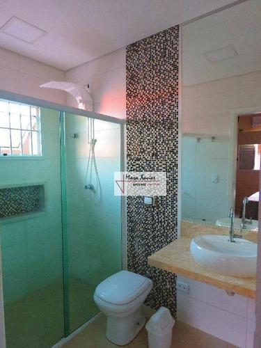 casa com 3 dormitórios à venda, 177 m² por r$ 690.000 - centro - vinhedo/sp - ca2470