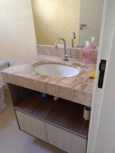 casa com 3 dormitórios à venda, 180 m²  - condomínio campos do conde ii - paulínia/sp - ca1630