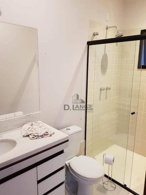casa com 3 dormitórios à venda, 180 m² por r$ 670.000 - condomínio campos do conde - paulínia/sp - ca13153