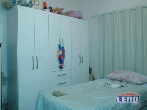 casa com 3 dormitórios à venda, 180 m² por r$ 690.000,00 - penha de frança - são paulo/sp - ca0055