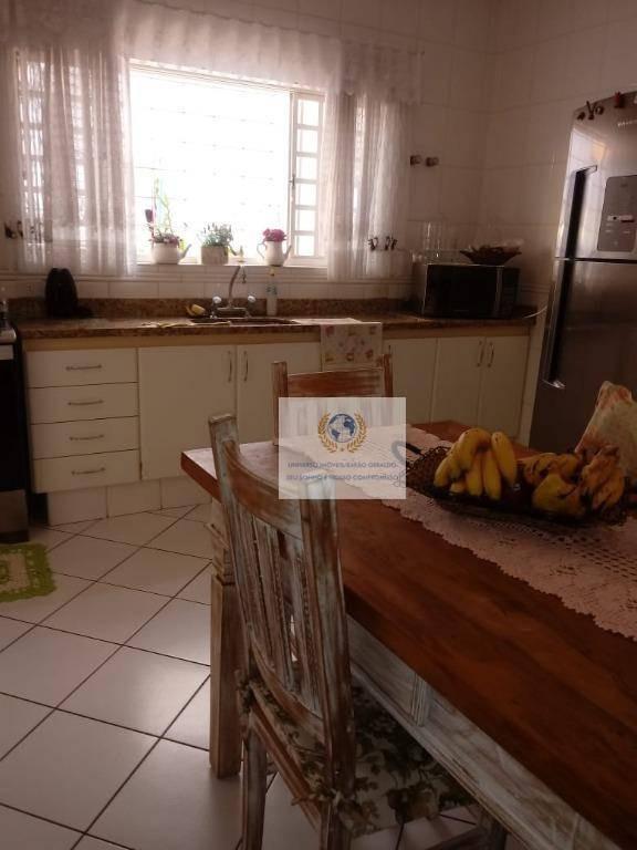 casa com 3 dormitórios à venda, 180 m² por r$ 730.000 - cidade universitária - campinas/sp - ca0920