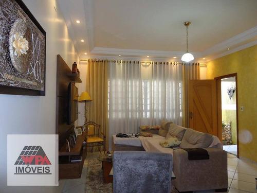 casa com 3 dormitórios à venda, 181 m² por r$ 470.000,00 - parque das nações - americana/sp - ca2292