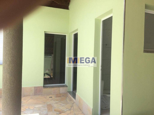casa com 3 dormitórios à venda, 182 m² por r$ 550.000,00 - jardim alto da colina - valinhos/sp - ca1326