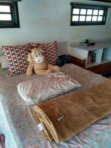 casa com 3 dormitórios à venda, 183 m² por r$ 700.000 - jardim planalto - arujá/sp - ca1200