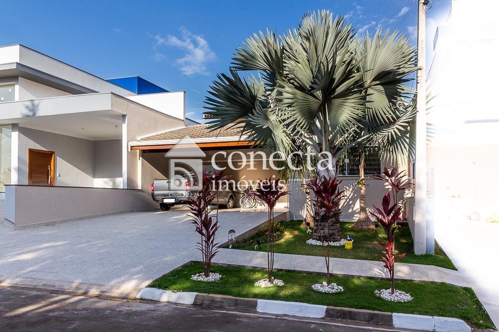 casa com 3 dormitórios à venda, 184 m² por r$ 750.000,00 - condomínio terras do fontanário - paulínia/sp - ca1169