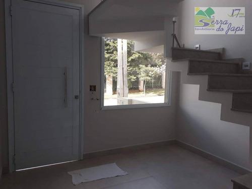 casa com 3 dormitórios à venda, 185 m² por r$ 990.000,00 - eloy chaves - jundiaí/sp - ca1757