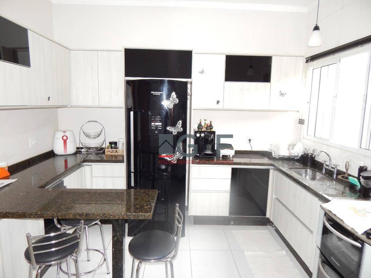 casa com 3 dormitórios à venda, 186 m² por r$ 795.000,00 - jardim alto da colina - valinhos/sp - ca6146