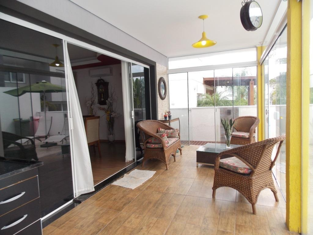 casa com 3 dormitórios à venda, 190 m² - alphaville - gravataí/rs - ca1915