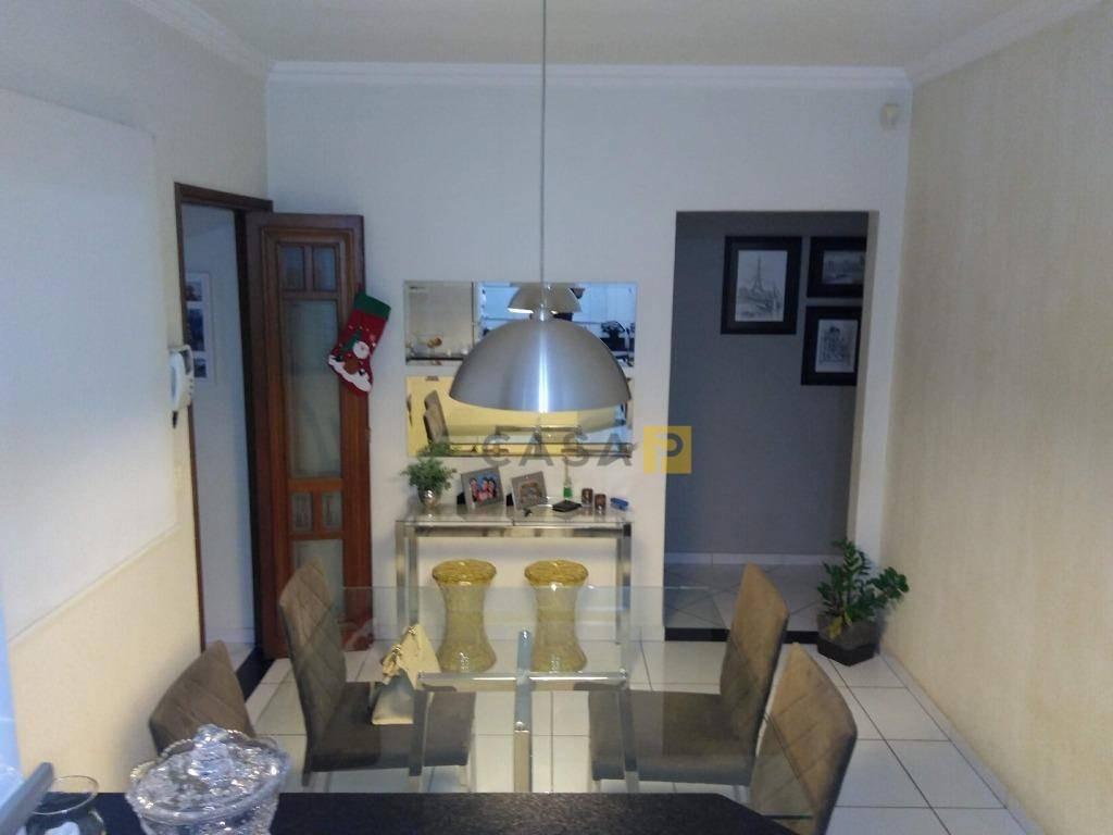 casa com 3 dormitórios à venda, 190 m² por r$ 890.000,00 - vila santa catarina - americana/sp - ca0411