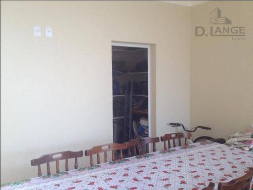 casa com 3 dormitórios à venda, 194 m² por r$ 596.000 - condomínio campos do conde ii - paulínia/sp - ca11352