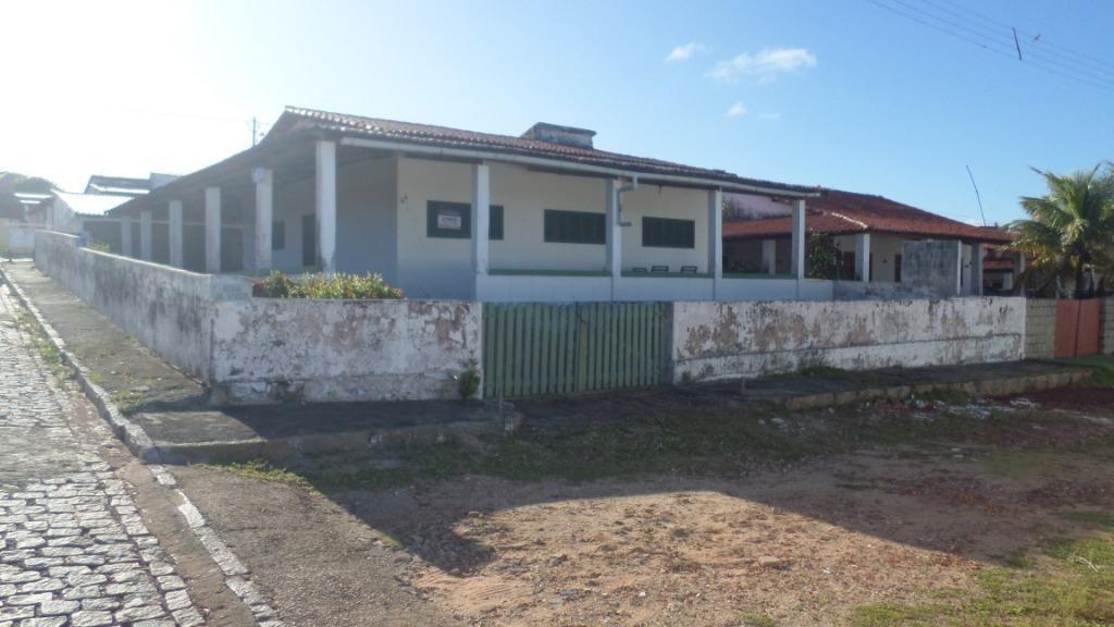 casa com 3 dormitórios à venda, 196 m² por r$ 190.000,00 - praia de buzios - nísia floresta/rn - ca7061