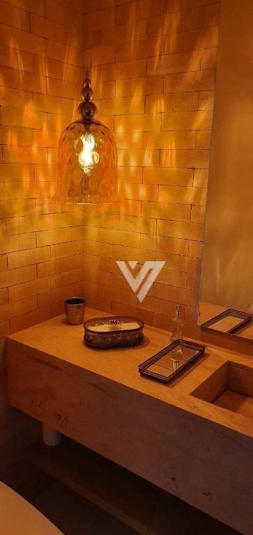 casa com 3 dormitórios à venda, 200 m² no condomínio chácara ondina - sorocaba/sp - ca1082