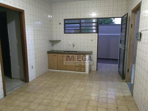 casa com 3 dormitórios à venda, 200 m² por r$ 530.000 - jardim nova europa - campinas/sp - ca0886