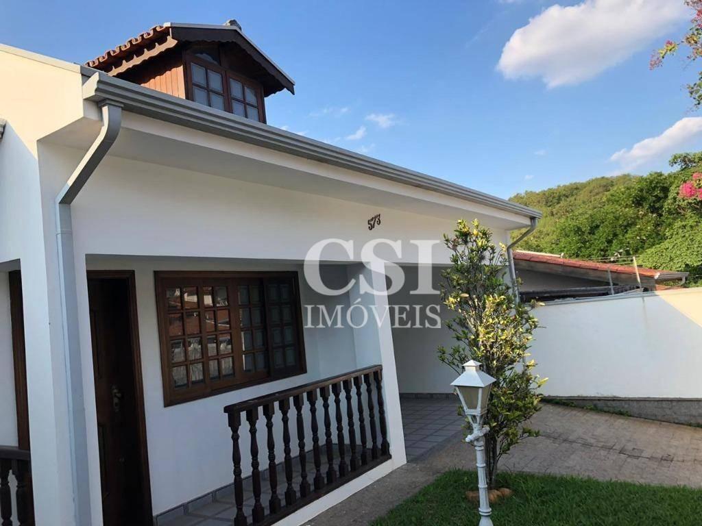 casa com 3 dormitórios à venda, 200 m² por r$ 580.000 - jardim chapadão - campinas/sp - ca0891
