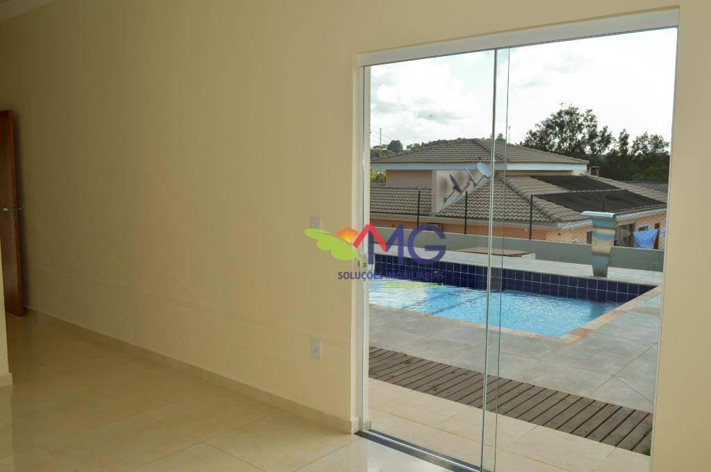 casa com 3 dormitórios à venda, 212 m² por r$ 950.000 - condomínio serra da estrela - atibaia/sp - ca0268