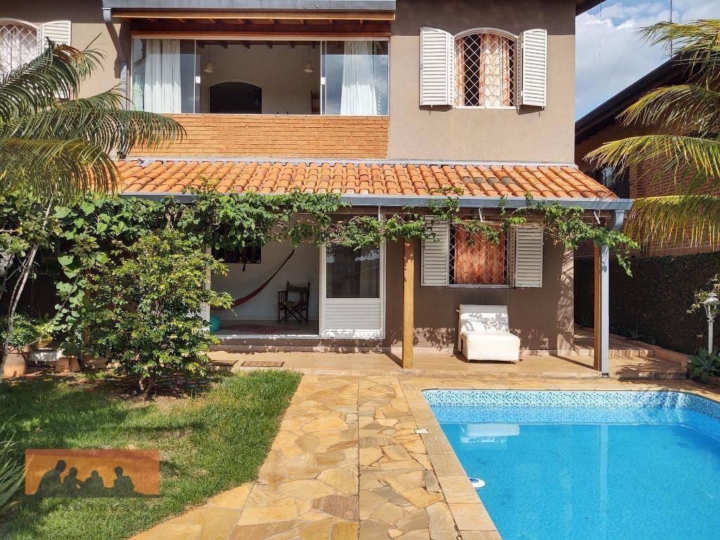 casa com 3 dormitórios à venda, 213 m² por r$ 850.000,00 - cidade universitária ii - campinas/sp - ca2003
