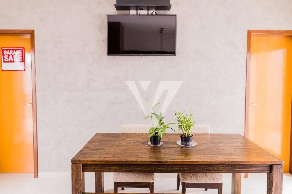 casa com 3 dormitórios à venda, 217 m² por r$ 1.100.000,00 - condomínio chácara ondina - sorocaba/sp - ca1005