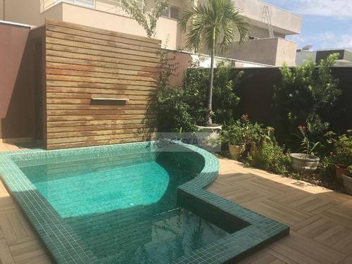 casa com 3 dormitórios à venda, 217 m² por r$ 1.250.000 - loteamento alphaville cuiabá ii - cuiabá/mt - ca1033