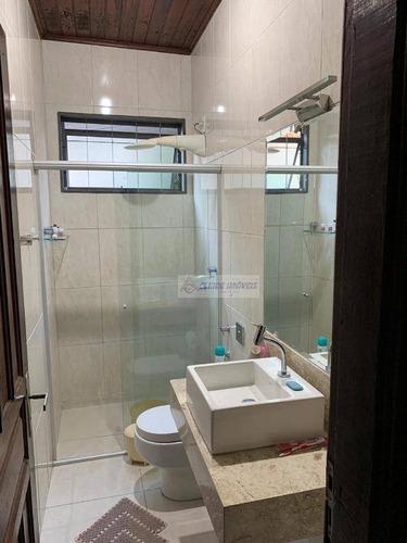 casa com 3 dormitórios à venda, 223 m² por r$ 350.000 - boa esperança - cuiabá/mt - ca1103