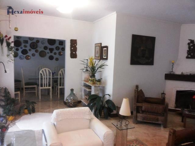 casa com 3 dormitórios à venda, 224 m² por r$ 1.550.000,00 - aldeia da serra - barueri/sp - ca0292