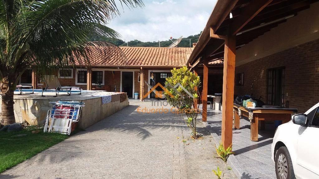 casa com 3 dormitórios à venda, 228 m² por r$ 870.000,00 - massaguaçu - caraguatatuba/sp - ca0087