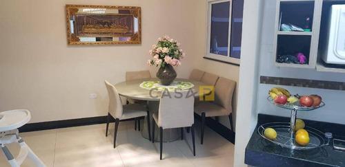 casa com 3 dormitórios à venda, 230 m² por r$ 420.000 - parque nova carioba - americana/sp - ca0355