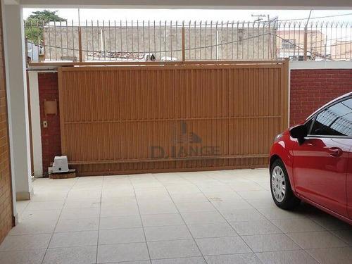 casa com 3 dormitórios à venda, 231 m² por r$ 690.000 - jardim nova europa - campinas/sp - ca5858