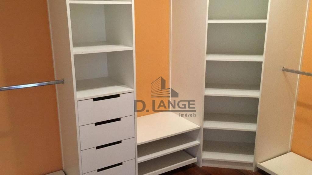 casa com 3 dormitórios à venda, 233 m² por r$ 1.280.000 - parque rural fazenda santa cândida - campinas/sp - ca12960